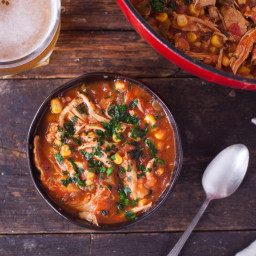 Amazing Chicken Tortilla Soup!