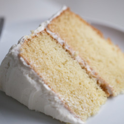 Amazing Vanilla Cake Recipe