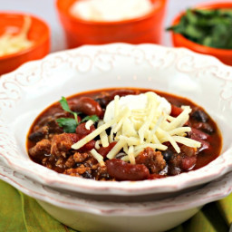 Amber Ale Turkey Chili