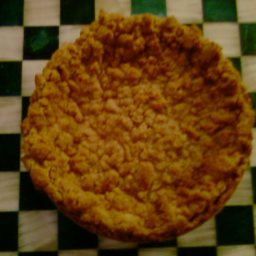 Amish Sour Cream Apple Pie