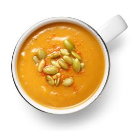 Ancho-Butternut Squash Soup