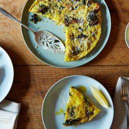 Andrew Feinbergs Slow-Baked Broccoli Frittata