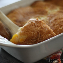 Andy's-style Peach Cobbler