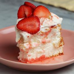 Angel Food Cake In A Springform Pan Recipe by Tasty