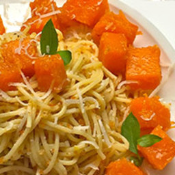 Angel Hair and Honey Butternut Squash