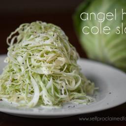 Angel Hair Coleslaw