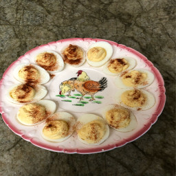 Angie and Bill's Deviled Eggs