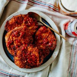Anthony Bourdain's Fried Pork Chops