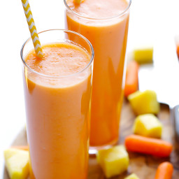 Anti-inflammation Pumpkin Carrot Smoothie