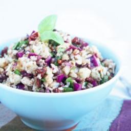 Anti Pasta Cauliflower Salad - Low Carb and Gluten Free