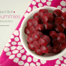 Antioxidant Rich Berry Gummies