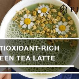 Antioxidant-rich Green Tea Latte