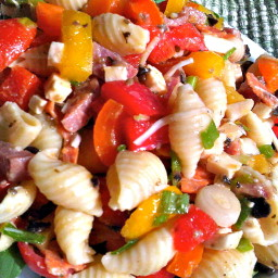 Antipasto Pasta Salad for Summer
