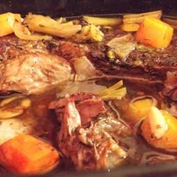 Antricot de Vita in Slow Cooker cu Legume