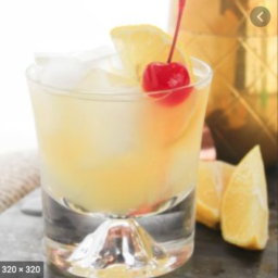 Aperol Whiskey Sour
