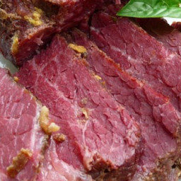 Apple and Brown Sugar Corned Beef Recipe
