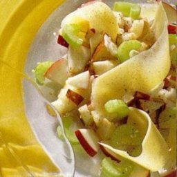 Apple And Cheese Carpaccio