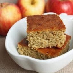 Apple and Garbanzo Cake (Gluten Free)