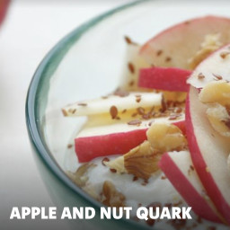 Apple and Nut Quark