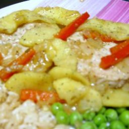 Apple And Pork Curry