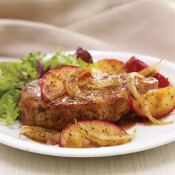 Apple and Sage Pork Chops