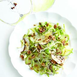Apple and walnut super-crunch salad