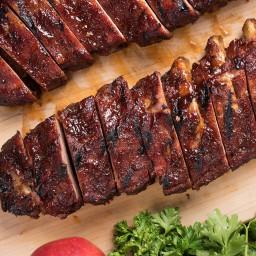 Apple Butter BBQ Ribs