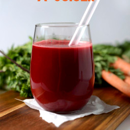 Apple Carrot Beet Ginger Juice