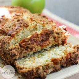 Apple Cheddar Quick Bread Recipe