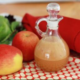 Apple cider and honey vinaigrette