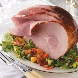 Apple Cider-Glazed Ham Recipe