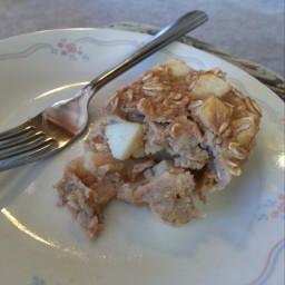 Apple Cinnamon Baked Oatmeal Cup