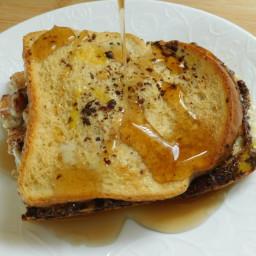 Apple cinnamon french toast sanwiches