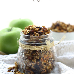 Apple Cinnamon Stovetop Granola