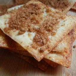 Apple cinnamon sugar crisps