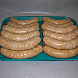 Apple Cinnamon Turkey Sausage