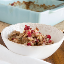 Apple Cranberry Baked Oatmeal