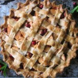 Apple Cranberry Pie (paleo, AIP, vegan)