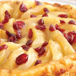 Apple Cranberry Tarte Tatin