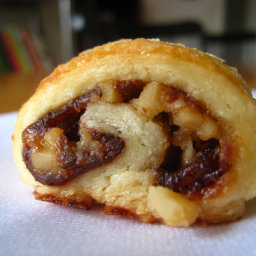Apple, Cranberry, Walnut Rugelach