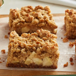 Apple Crisp Bars