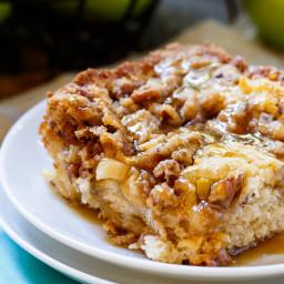 Apple Crisp Coffee Cake
