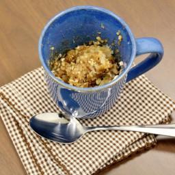 Apple Crisp in a Mug