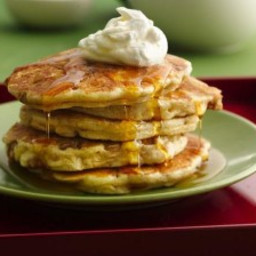 Apple Crisp Pancakes