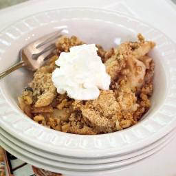 Apple Dessert with Graham Cracker Crust