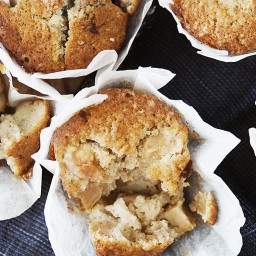 Apple Flax Muffins - Low Carb