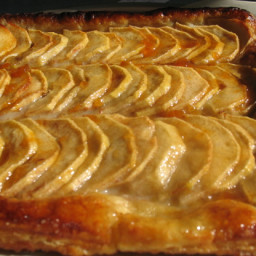Apple Galette With Puff Pastry