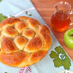 Apple Honey Challah