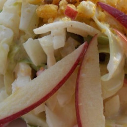 Apple Jicama Coleslaw