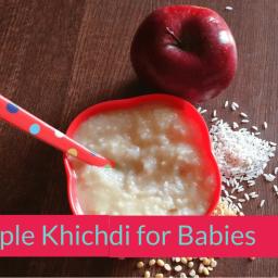 Apple Khichdi Recipe